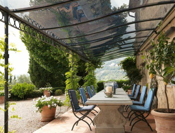 les 25 meilleures id es concernant pergola en fer forg sur pinterest pergola fer pergola fer. Black Bedroom Furniture Sets. Home Design Ideas
