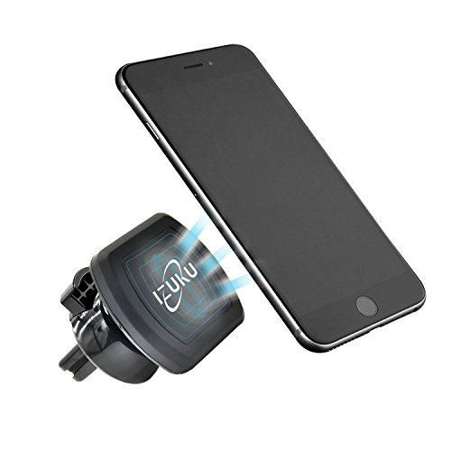 Oferta: 7.49€ Dto: -53%. Comprar Ofertas de Soporte Movil Coche, Sostenedor Magnético de Teléfonos Móviles Universal IZUKU [Rotación de 360 grados] para Smartphone(iPhon barato. ¡Mira las ofertas!