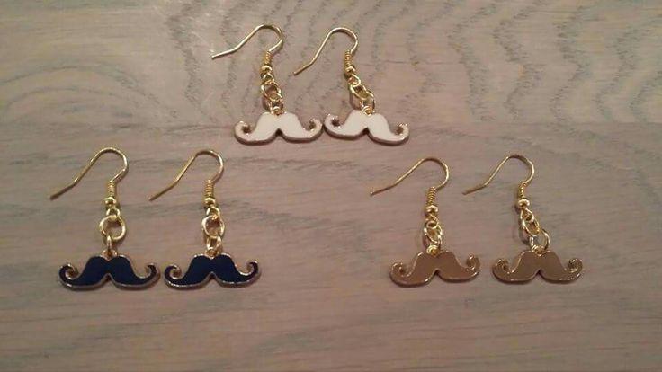 Handmade earrings www.hairandbeautysalonjolien.com
