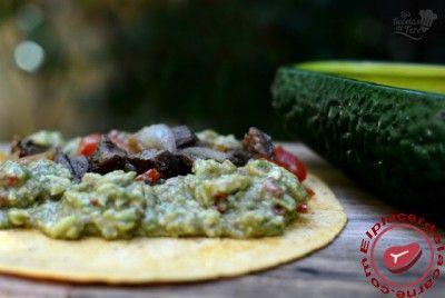Tortillas al estilo mexicano con entraña de ternera - Elplacerdelacarne.com