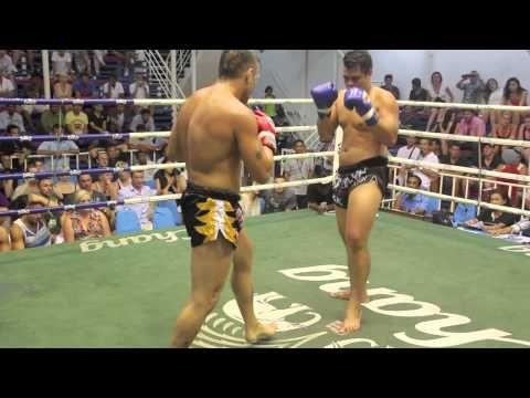 Nabil Khatib (Tiger Muay Thai) vs Rockstar DrBestKamalaGym @ Bangla Boxing Stadium 29/3/2013