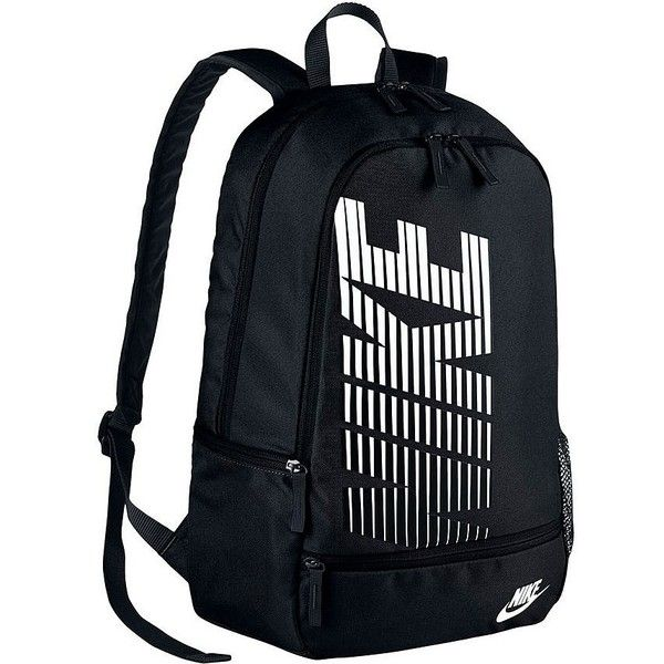 Nike Classic North Backpack Black 23 Litre ($28) ❤ liked on Polyvore featuring bags, backpacks, duffle bag, sport backpack, nike, duffel backpack and backpack duffle bag