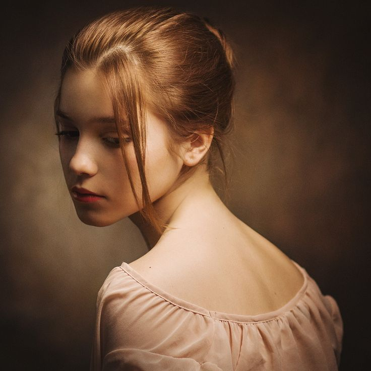 художественный фотопортрет женский первым