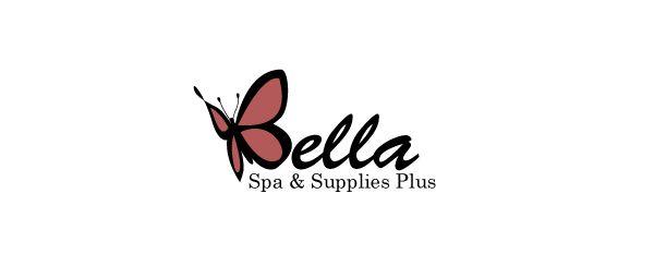 Bella Spa Supplies Plus. Logo design by Antoine Chung.