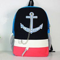 anchor backpacks | Fashion Creative Anchor backpack Bag