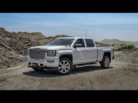 2016 GMC Sierra Denali - White Frost - YouTube