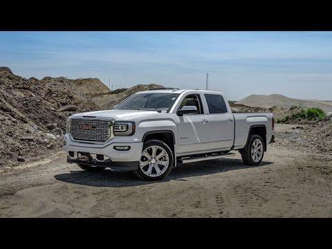 2016 GMC Sierra Denali - White Frost - YouTube
