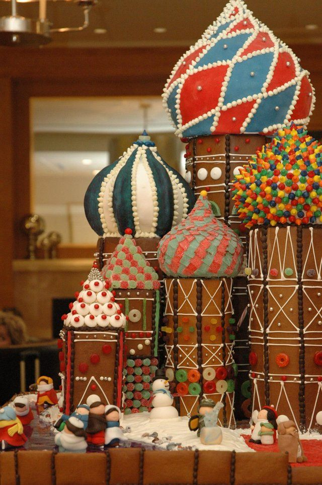 Sheraton seattle russian gingerbread house