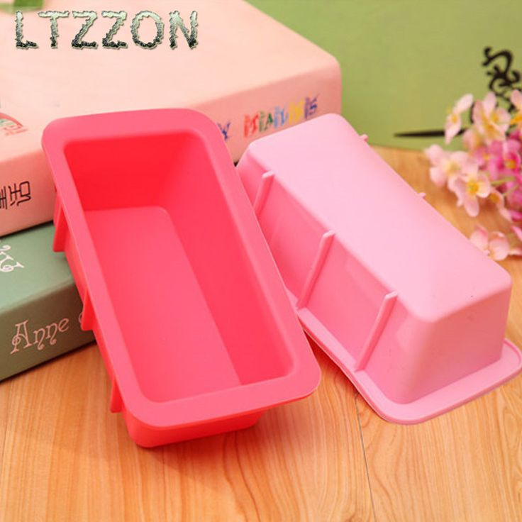 1PC Random Color DIY Cake Mold Silicone Rectangular Toast Bread mould Baking Tool Kitchen 16.5*8.5*4.7cm prepared lunches *** AliExpress Affiliate's buyable pin. Click the image to visit www.aliexpress.com