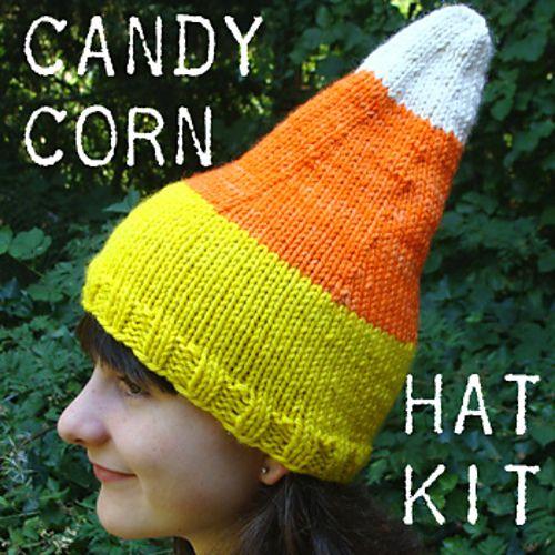 Ravelry: Candy Corn Hat pattern by Reenie Hanlin: Hats Patterns, Crafts Ideas, Free Knits, Knits Patterns, Knits Candy Corn Socks, Hat Patterns, Knits Hats Cowls, Corn Hats, Candycornkit350 Small2