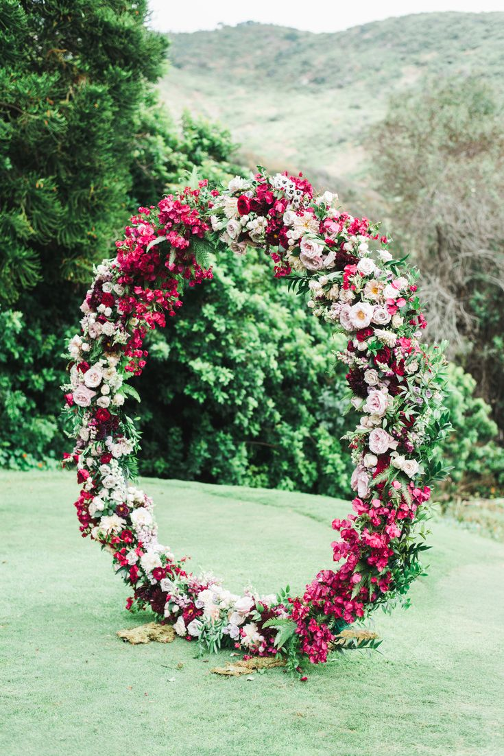 Read More: https://www.stylemepretty.com/2018/02/02/jewel-tone-wedding-at-the-ranch/