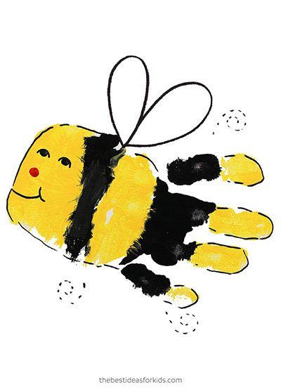 Handprint Alphabet - The Best Ideas for Kids   Bee crafts ...