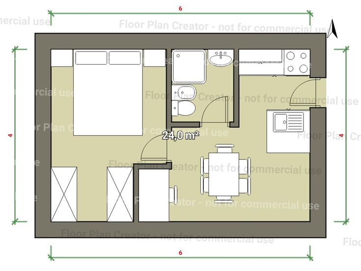 Mini Houses, Small Houses, Tiny House Plans, Small Apartments, Casa  Agricola, Smallest House, Small Living, Living Spaces, Floor Plans