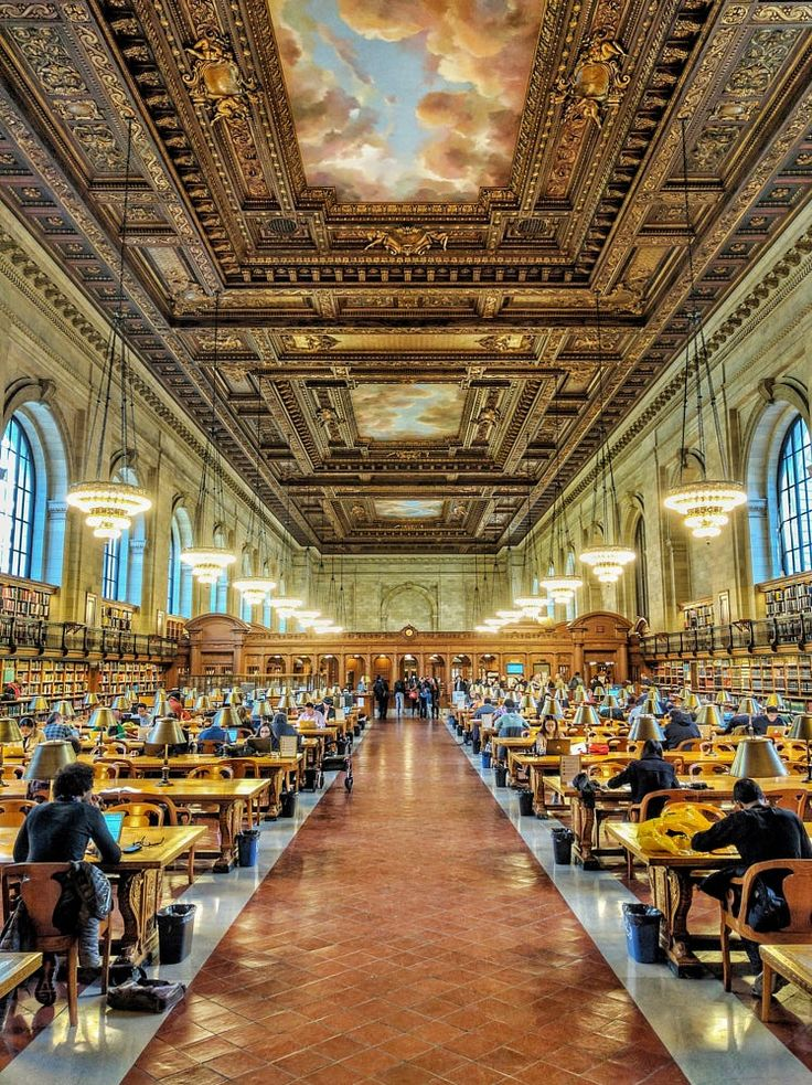 New York 365 days - NY Library Rose Reading Room by Solon Chan on 500px
