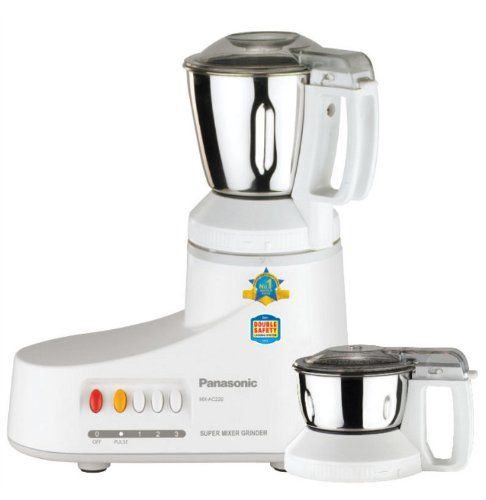 Panasonic MX AC 220 550W Mixer Grinder on November 12 2016. Check details and Buy Online, through PaisaOne.