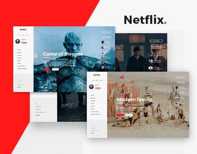 """Check out this @Behance project: """"Netflix."""" https://www.behance.net/gallery/40132443/Netflix"""