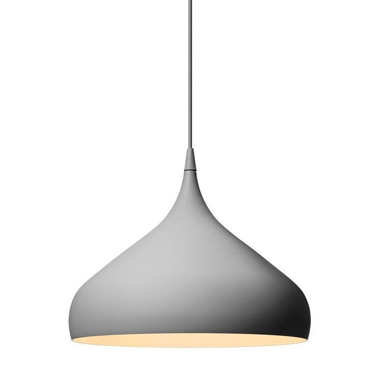 AndTradition - Spinning Light BH2 Suspension Lamp - dark grey/matt