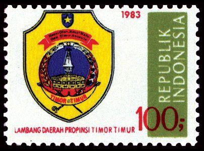 Indonesia Stamp 1983 Timor Timur.