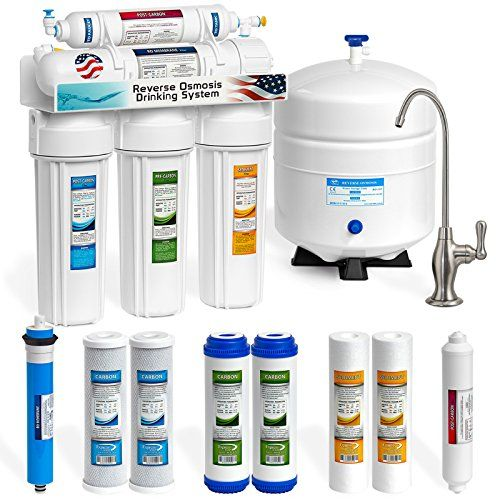 Reverse Osmosis Filter for Home Drinking System 5 Stage Alongwith 50GPD Membrane