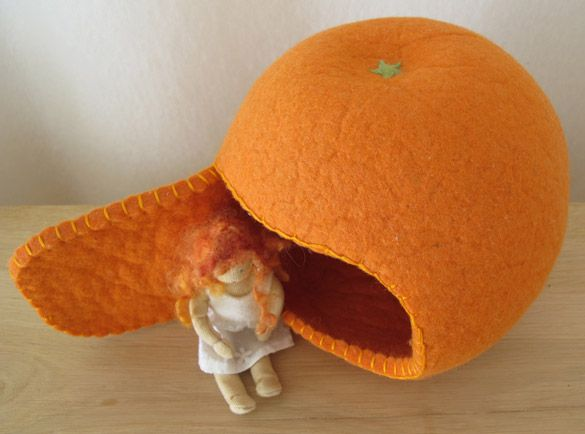 Sun Egg. Reminds me of the Elsa Beskow book. I want to make this and give it, as a gift, with the book.