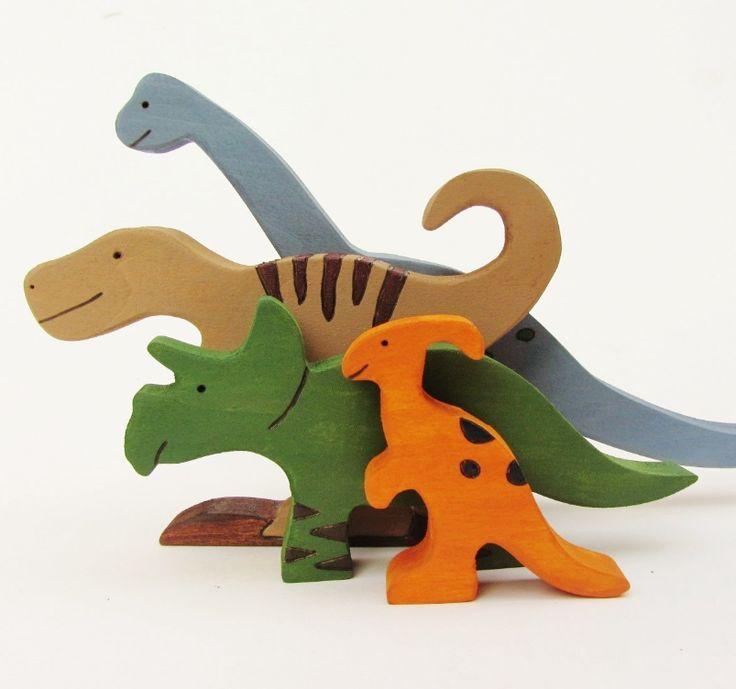 Wood Dinosaur Toys