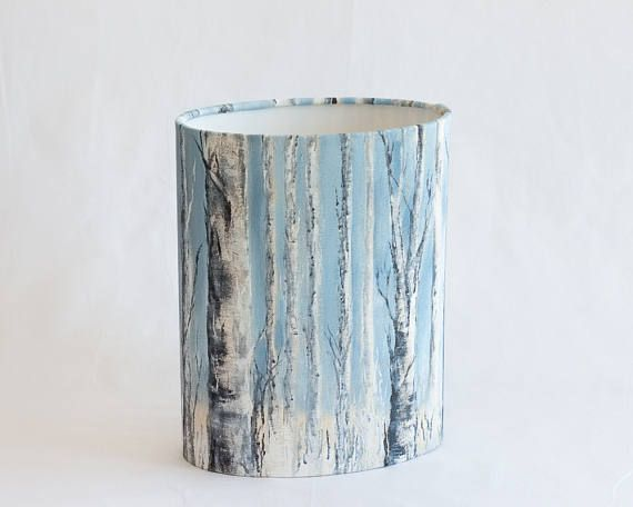 24 best vintage fabric lamp shades images on pinterest floor this lamp shade is both so you dont have to choose one of a kind hand painted fabric by wiltshire artist catherine flippence now a stunning lampshade for mozeypictures Gallery
