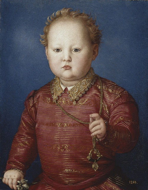 Agnolo Bronzino - Don Garcia de' Medici