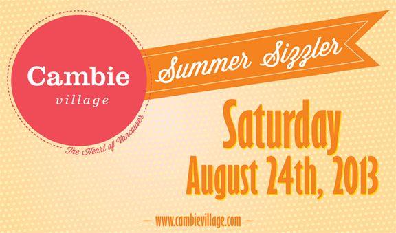 Cambie Village Summer Sizzler