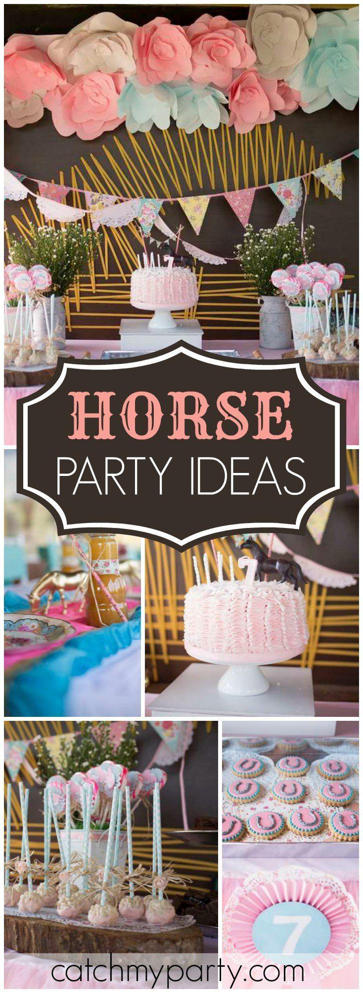 Best 25 Horse Birthday Parties Ideas On Pinterest