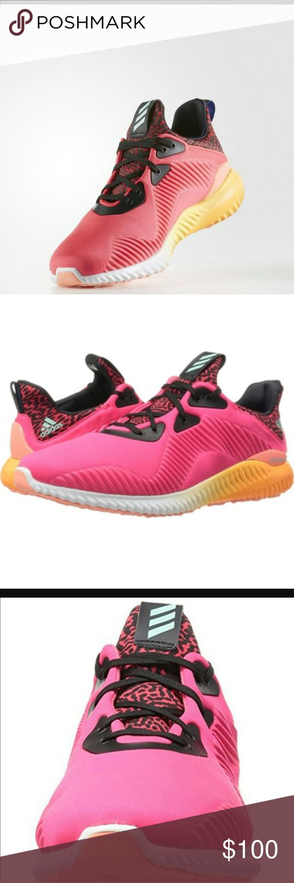 Adidas Running Shoes Brand new in box Size 7.5 Open to offers  Turn heads on the street and at the gym in the sleek design and dynamic cushioning of the adidas Alpha Bounce running shoe! Adidas Shoes Athletic Shoes