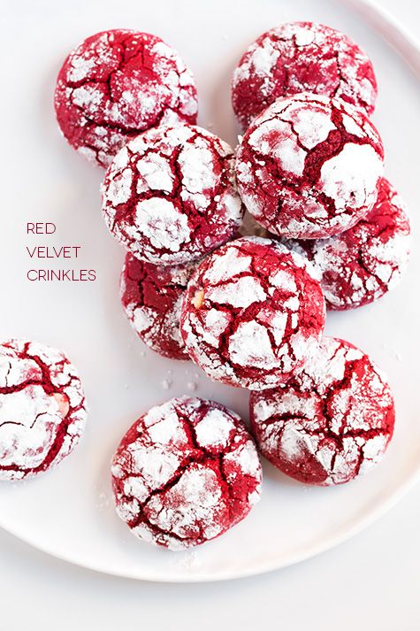 Red Velvet Crinkle Cookies (from scratch) | Cooking Classy