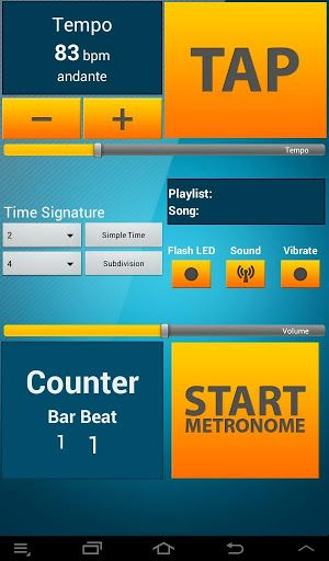 Best Music Set  is a special music application which contains three reliable devices:• Metronome • Piano • Tuner It will be useful for musicians who want to practise playing on instruments.•\tMetronome offers a variety of rhythmic patterns whose parameters are changed in an intuitive way. The whole is complemented by a large and legible interface.Features:♫ Tempo tuning from 20 to 240 BPM ♫ Tap tempo ♫ Save songs ♫ Adjustable tempo signature for simple, compound...