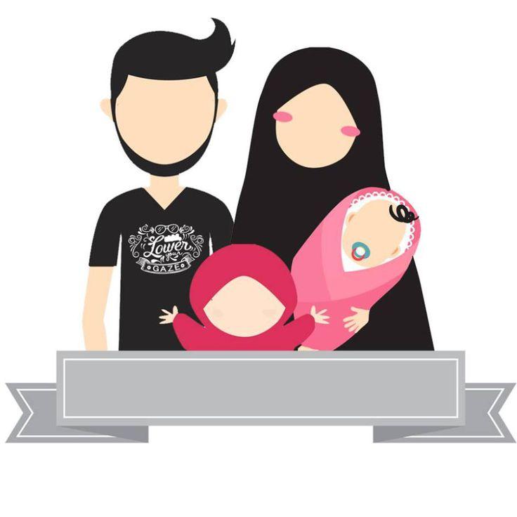 avatar kartun muslim 14