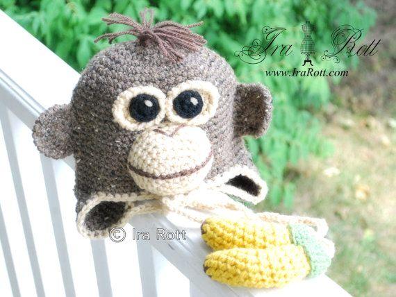 Crochet Animal Hat Patterns | Crochet Animal Hats & Patterns by IraRott Inc.