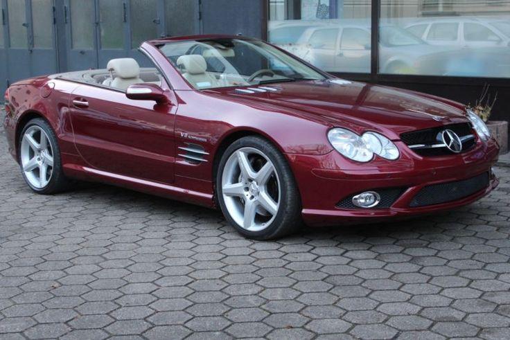 """Mercedes-Benz SL 55 AMG Sitzbelüftung PDC Keyless-Go 19""""AMG als Cabrio/Roadster in Witten - NRW"""