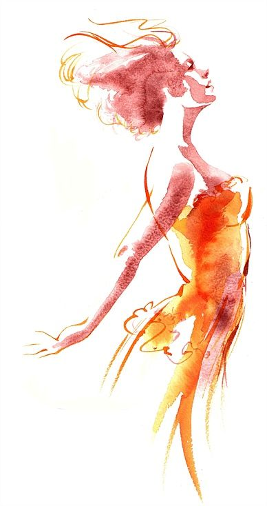 Katharine Asher – Figurative specialist, Fashion & Beauty Illustrator