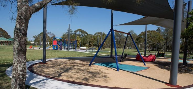 This park review was updated in 2014. Meadowlands Park, an area of the nature-filled Minnippi Parklands, has some good play equipment that is protected by