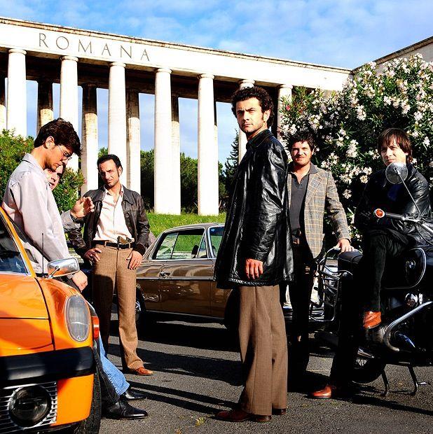 "The characters from the famous Series ""Romanzo Criminale""... The ""banda della Magliana"""