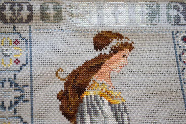 Celtic Winter (L&L): Embroidered with dmc thread