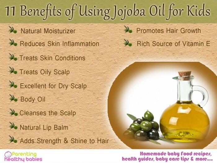 11 Benefits of Using Jojoba Oil for Kids | Jojoba oil uses, Jojoba oil  benefits, Jojoba oil face