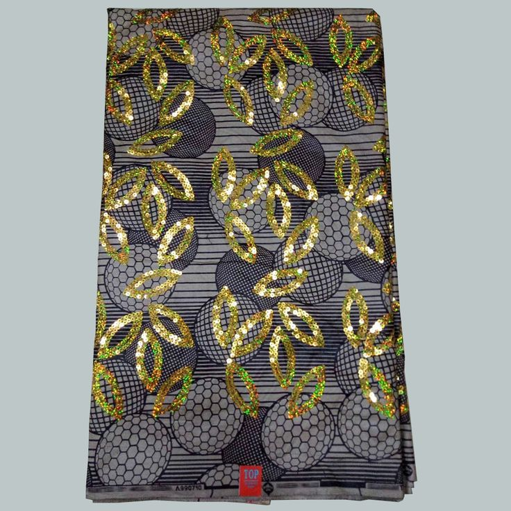 Find More Fabric Information about HSLP 34 African printed super Gold sequins wax fabric veritable hitarget wax fabric for Nigerian clothing,High Quality wax fabric,China fabric for Suppliers, Cheap african print from Freer on Aliexpress.com