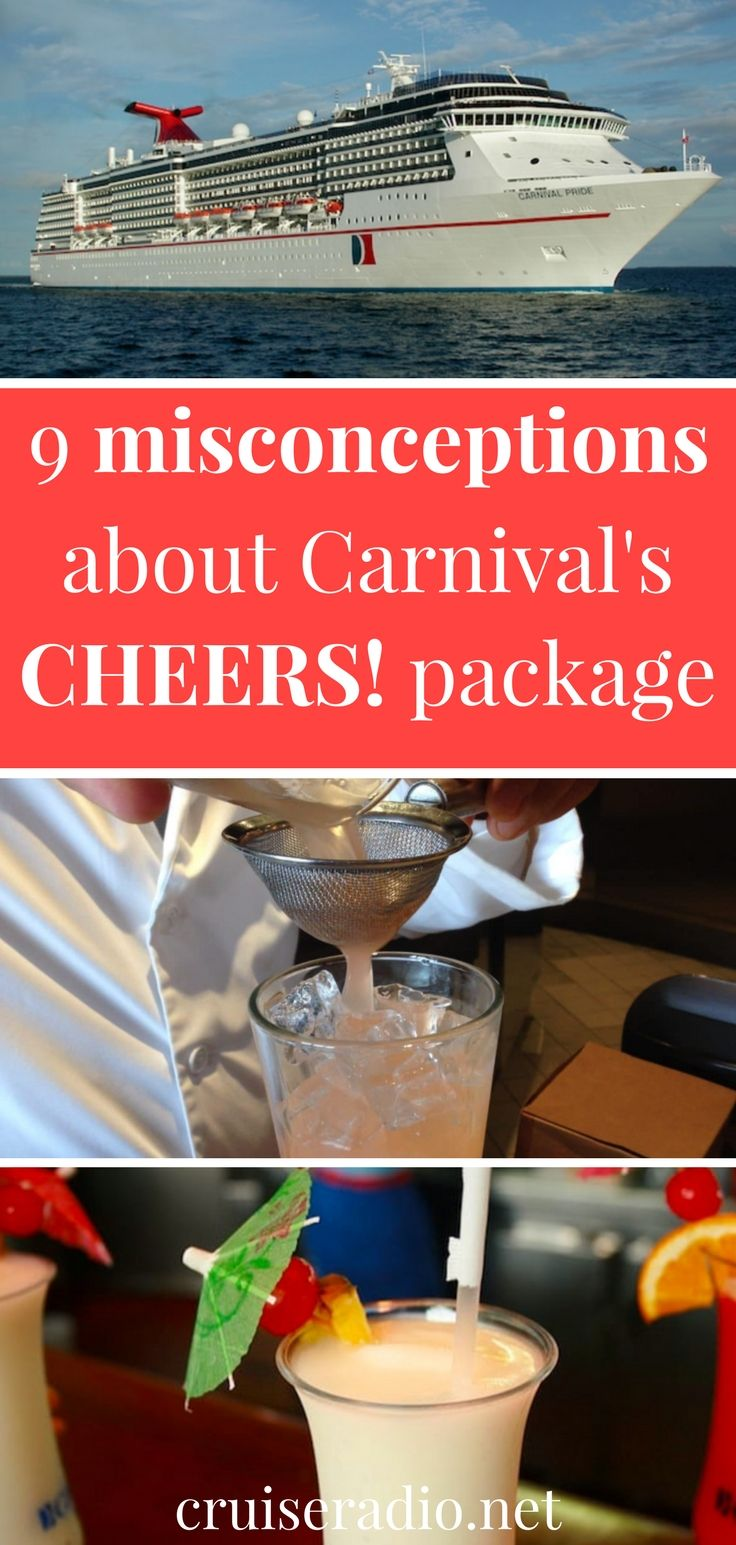With so much to remember about what's included and what's not included, there can be a lot of misinformation out there about the Carnival drink package.