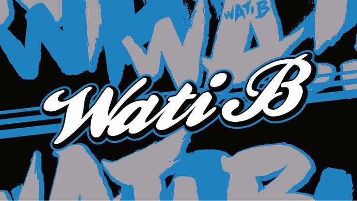 Wallpaper WATI B Graffiti #iMAC #PC #NoLimit #WATIB #Wallpaper #Background #HD