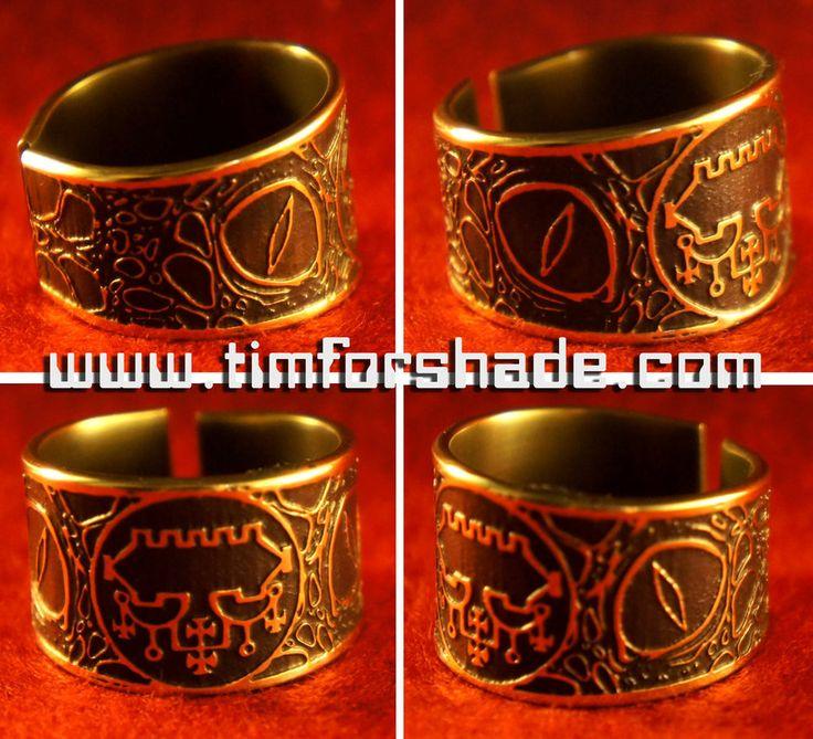 Belial Eye Demon Eye adjustable ring kabbalah by TimforShade on DeviantArt