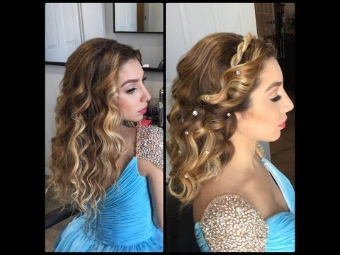 how to style hair for prom 25 best ideas about cinderella hairstyle on 6506