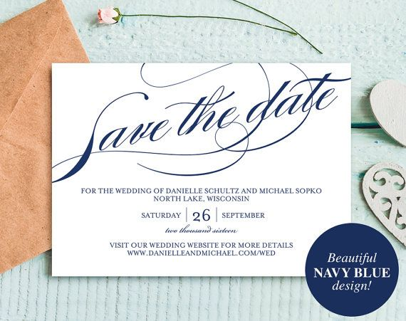 Best Save The Dates Images On   Save The Date