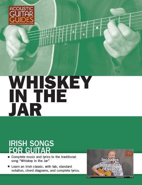 """""""Whiskey in the Jar"""" is instantly recognizable as an Irish pub favorite. Play the first eight bars with today's excerpt from Irish Songs for Guitar. Posted by Danny Carnahan Excerpted from Irish So…"""
