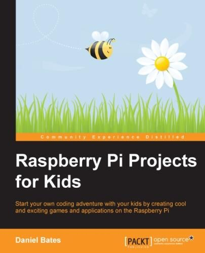 Raspberry Pi Projects for Kids, an open-source book by Daniel Bates, is now available online here. The book shows you how to set up your pi and also includes detailed project tutorials that are gre…