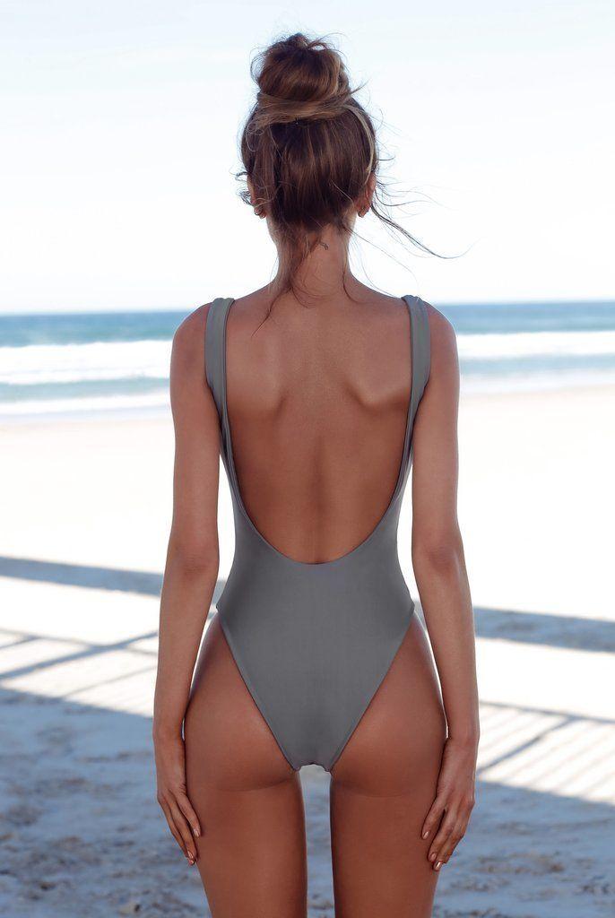 95626eec469 Halter One Piece Swimsuit Sexy Women Swimwear Solid Swimsuit Bathing Suit  Girl Bodysuit Piece Swimwear Monokini
