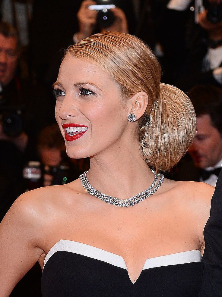 All angles of Blake Lively's standout hair at the 2014 Cannes Film Festival: the elegant up 'do